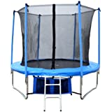 FoxHunter 8FT Trampoline Set Includes Safety Net Enclosure worth £49.99 All Weather Cover worth £19.99 TUV GS EN-71 CE Certified RRP £299.99 Total Saving £180 Off the Package No Ladder