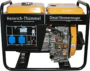 Heinrich Thümmel – Stromerzeuger Diesel – HT3600