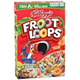 Kelloggs Froot Loops Cereal 12.2 Oz Box