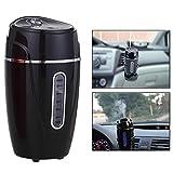 Itian Humidificateur de voiture, humidificateur de caméra USB Mini Stoga 180 ml Purificateur de purge d'air portable USB Powered pour voiture et maison, noir