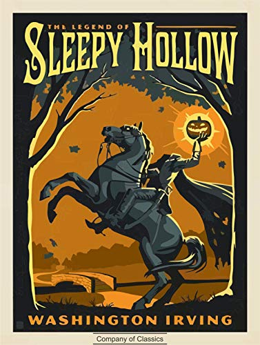 The Legend of Sleepy Hollow (English Edition) (Illustrated)