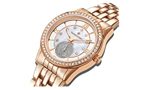 Timothy Stone - Collection HUSTON - Montre Femme - Or Rose