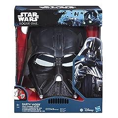 Idea Regalo - Star Wars L'Impero Colpisce Ancora - Maschera Dart Fener Cambia-Voce