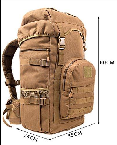 Outdoor-Bergsteigen-Tasche/Reise Big-Bags für Männer und Frauen/Tour Sporttasche J