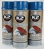 Bremssattellack Lack 4 Dosen BLAU 1,6 Liter