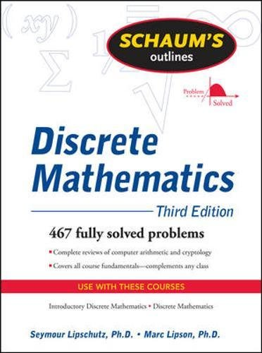 Schaum's Outline of Discrete Mathematics, Revised Third Edition (Schaums' Outline Series)