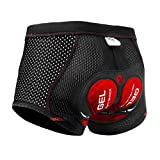Best Cycling Shorts Men - X-TIGER Men's Cycling Underwear Shorts 5D Padded Gel Review