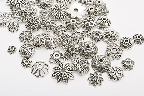 BLR 47g Tibet Silber Spacer Perlen Charms Beads