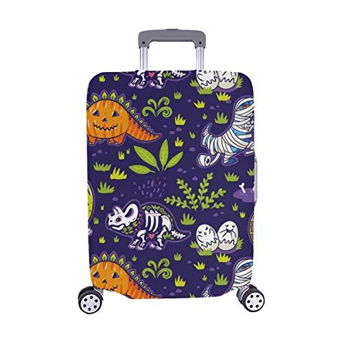 appy Halloween Lustige Cartoon Dinosaurier Kostüme Staubschutz Trolley Protector case Reisegepäck Beschützer Koffer Abdeckung 28,5 X 20,5 Zoll ()