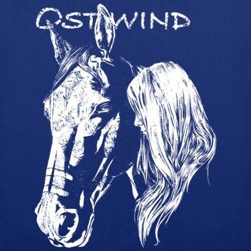 OSTWIND Aufbruch Nach Ora Pferdekopf Porträt Stoffbeutel von Spreadshirt® Royalblau