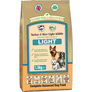 James Wellbeloved Dog Light Turkey and Rice Dry Mix 12.5 kg from Crown Pet Foods