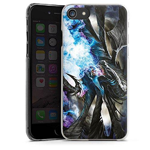 Apple iPhone X Silikon Hülle Case Schutzhülle Drache Eis Epic Hard Case transparent