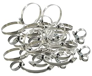 Colliers INOX type SERFLEX - Assortiment de 60 colliers