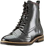 Tamaris Damen 25119-21 Combat Boots, Schwarz (Black Patent 18), 41 EU