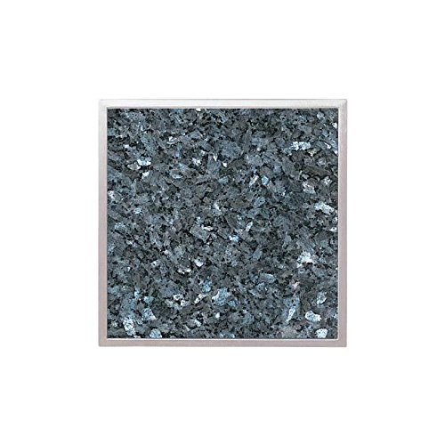 Granitfeld mit Edelstahlrahmen Granitplatte Granit -