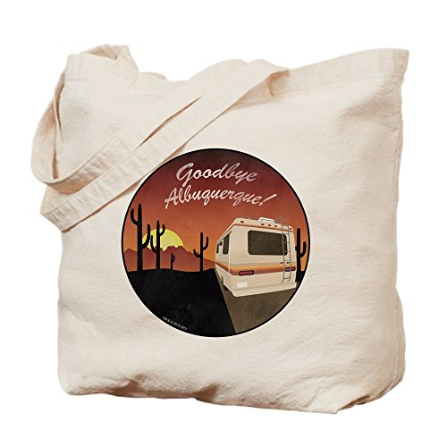 CafePress Goodbye Albuquerque Tragetasche, canvas, khaki, S