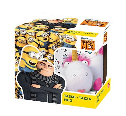 Preisvergleich Produktbild Despicable Me - Minions 93737 - Keramiktasse DM 3 Fluffy in Geschenkpackung, 12 x 9 x 10 cm, 320 ml