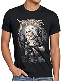 style3 La Mère des Dragons T-Shirt Homme thrones Targaryen daenerys game
