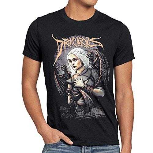 style3 Madre dei Draghi T-shirt da uomo trono stark daenerys di targaryen...
