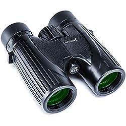 USCAMEL Jumelles 8x36 pour Adultes Compact Professional BAK4 Observation de la Chasse en Plein air pour Observer Les Animaux (Noir)
