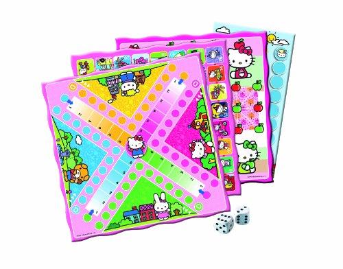 Clementoni-697441-Hello-Kitty-Spielesammlung-30-Spielvarianten