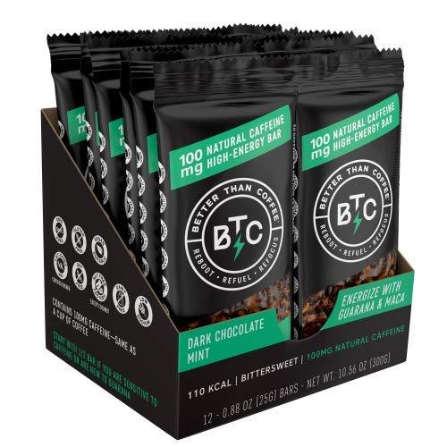 Barrette energetiche 100 mg di caffeina