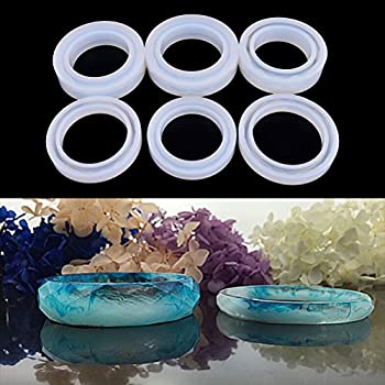 Jeteven Silicon Mould Cabochon Jewelry Casting 29 Designs 58 Case DIY Resin for