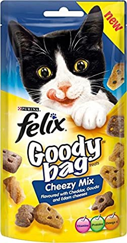 Felix Goody Bag Cheezy Mix (60g) - Paquet de