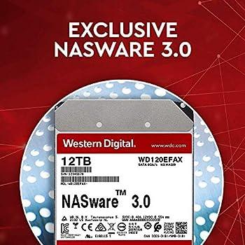 WD Red 10 TB 3.5 Inch NAS Internal Hard Drive - 5400 RPM - WD101EFAX