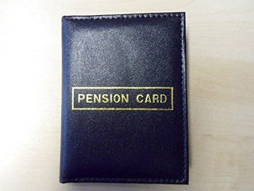 Pensione libro porta carte di credito, in pelle sintetica, colore:
