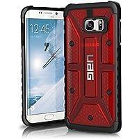 Urban Armor Gear UAG-EDGEPLS-MGM-VP - Funda para Samsung Galaxy S6 Edge Plus, color rojo y negro