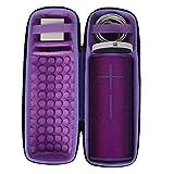 Duro Viajar Caso Cubrir para Ultimate Ears UE MEGABOOM 3 Altavoz Bluetooth por co2CREA (Púrpura de Carga)