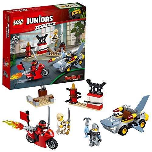 Lego Juniors Squalo all'Attacco,, 10739