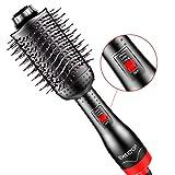 Sweetop Brosse Soufflante, Salon Ion Négatif Protection des Cheveux, 4-en-1...