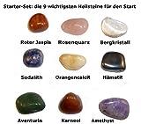 Heilsteine-Set für Starter - 9 der wichtigsten Steine