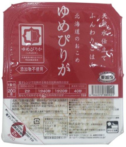 Uke soffice Hokkaido riso sogno Pirika (200gX3P) pezzi X8