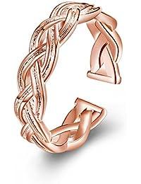 Impression 1 PCS Anillo de mujer Anillo elegante Anillo de moda Accesorios de joyería niña Regalo de San Valentín Anillo de bodas Anillo de lujo Anillo romántico