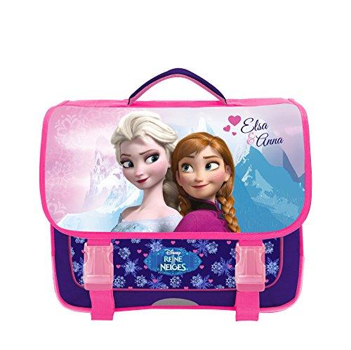 Cartable rose et bleu la Reine des Neiges Disney
