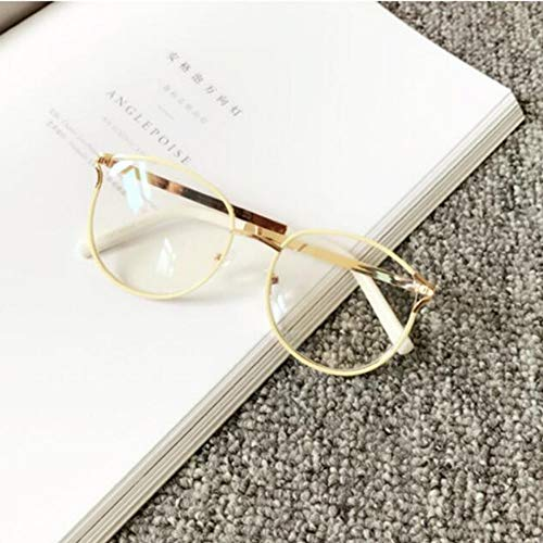 LAMAMAG Sonnenbrille Brillen Brillengestell Frauen Cat Eye Computer Optische Gläser Myopie Für Damen Transparente Brillengestell Glas, 5