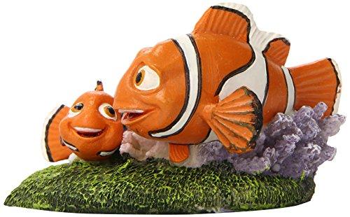"Penn-Plax Finding Nemo and Marlin Aquairum Ornament 4"" 3"