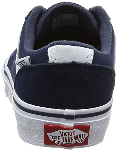 Vans Jungen Yt Chapman Stripe Sneakers Blau (Dress Blues/whitesuede/canvas)