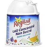 Régilait Lait Concentré Non Sucré Pot de Lait 200 g - Pack de 10