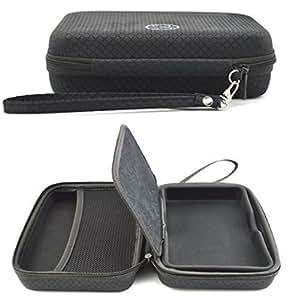 Rheme Hard Carry Case For Sat Nav TomTom Go 5200 5100 Go 520 510 Go 51 Go Professional 5'' GPS Sat Nav Accessory Storage and Lanyard