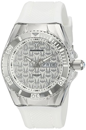 technomarine-womens-quartz-watch-with-silver-dial-analogue-display-and-white-silicone-strap-tm-11520