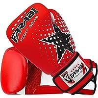 Farabi junior Starlux boxeo para niños. MMA, Muay Thai, kickboxing entrenamiento, saco de boxeo, gama de guantes para jóvenes
