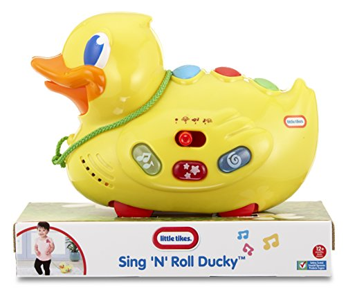 Little Tikes Little Tikes Sing N Roll Ducky, Multi Color