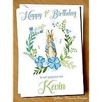 Personalised Dinosaur Guitar Birthday Card Son Grandson Nephew Friend 2 3 4 5 6