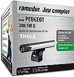 Pack Rameder barres de toit SlideBar pour PEUGEOT 308 SW II (119597-11791-1-FR)