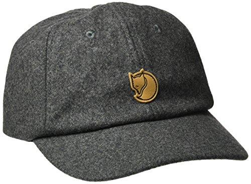 FJÄLLRÄVEN Damen Övik Wool Kappe, Dark Grey, S/M