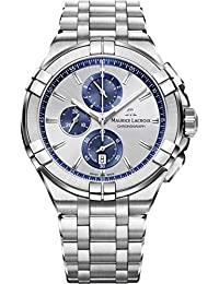 Mens Maurice Lacroix Aikon Chronograph Watch AI1018-SS002-131-1